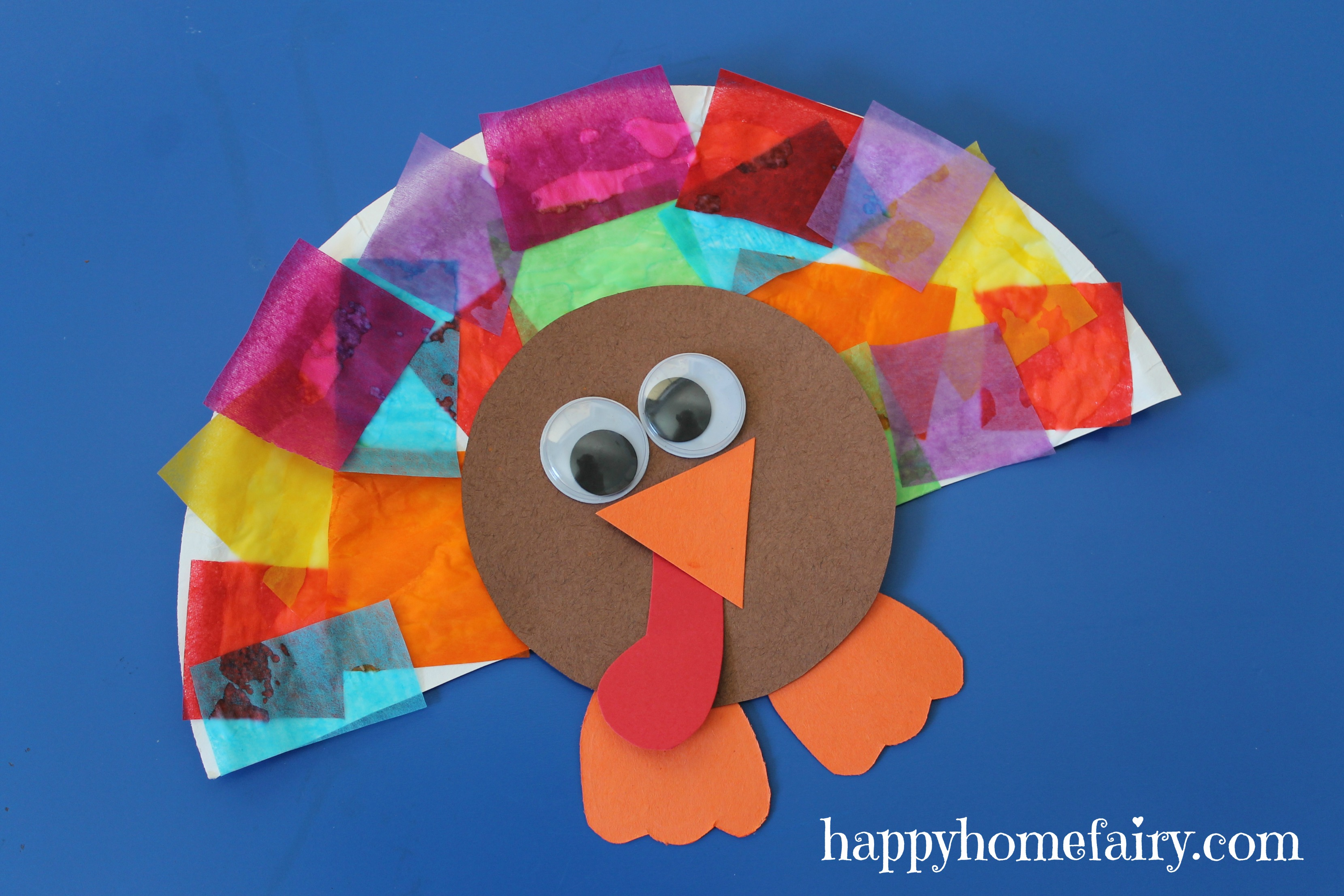 Easy turkey craft happy home fairy for Turkey country arts and crafts