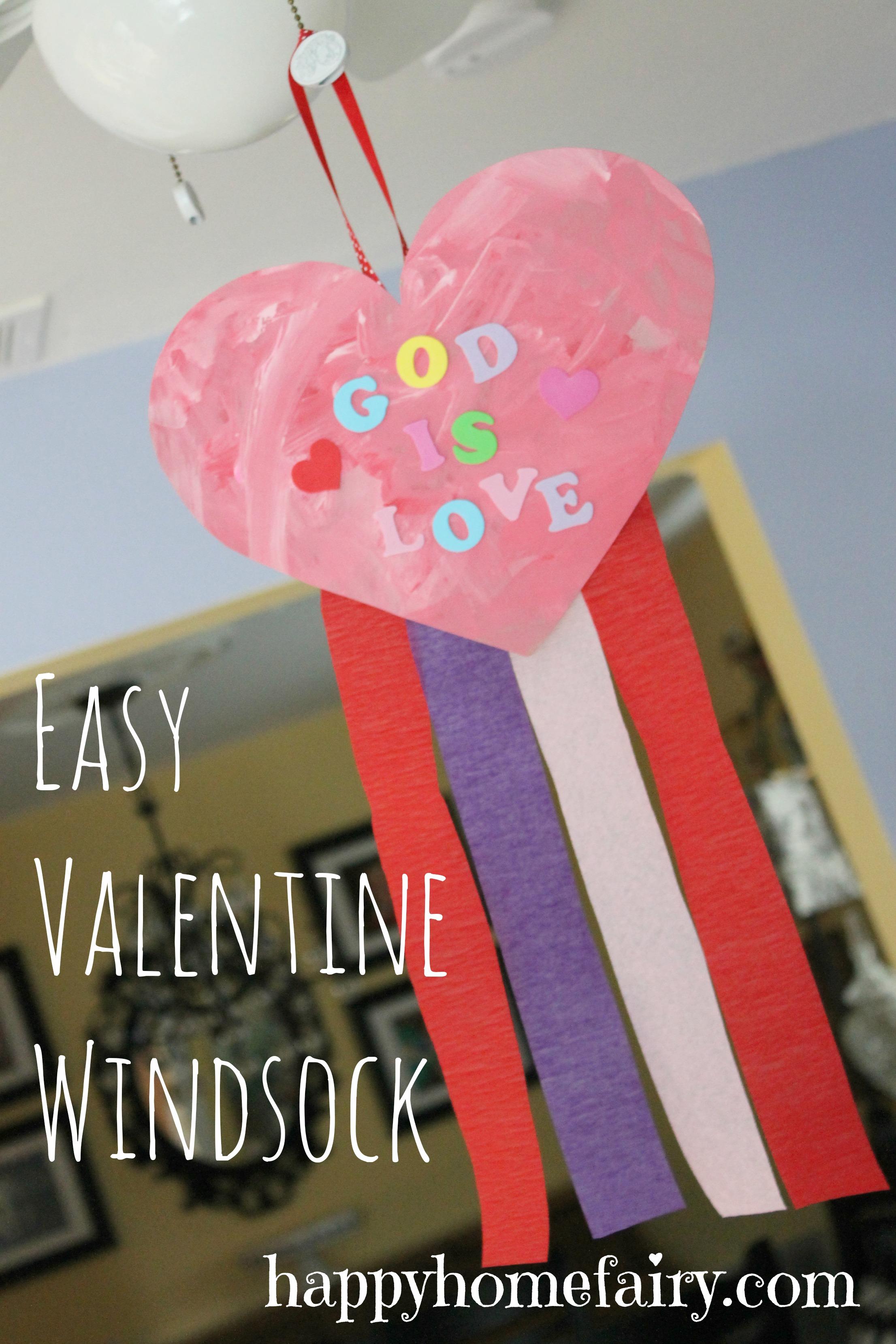 Easy Preschool Crafts For Valentine