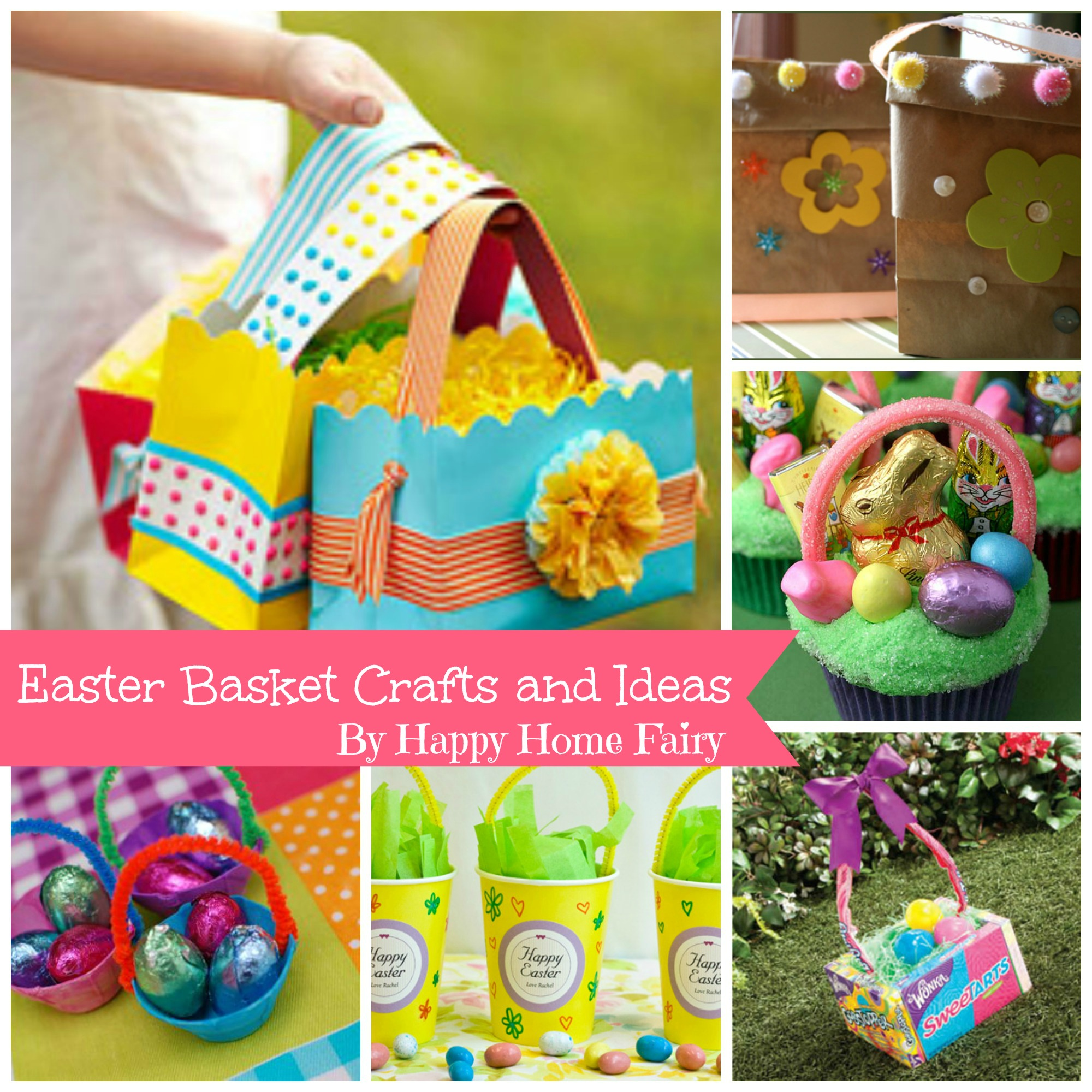 Easter basket craft ideas happy home fairy negle Gallery