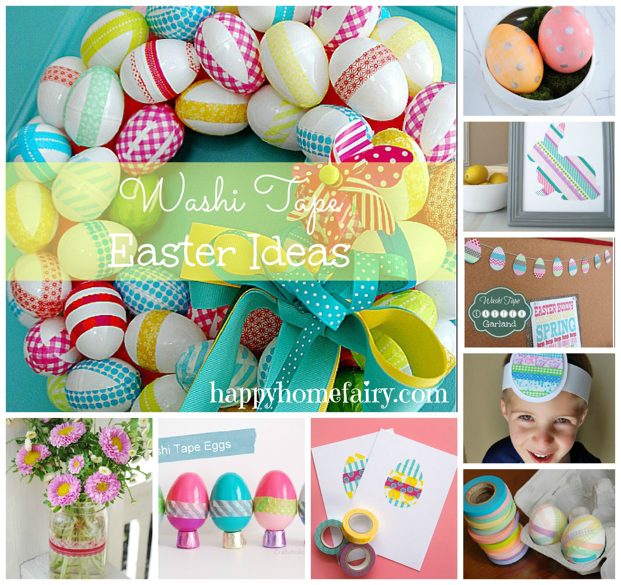Washi Tape Easter Awesome Happy Home Fairy