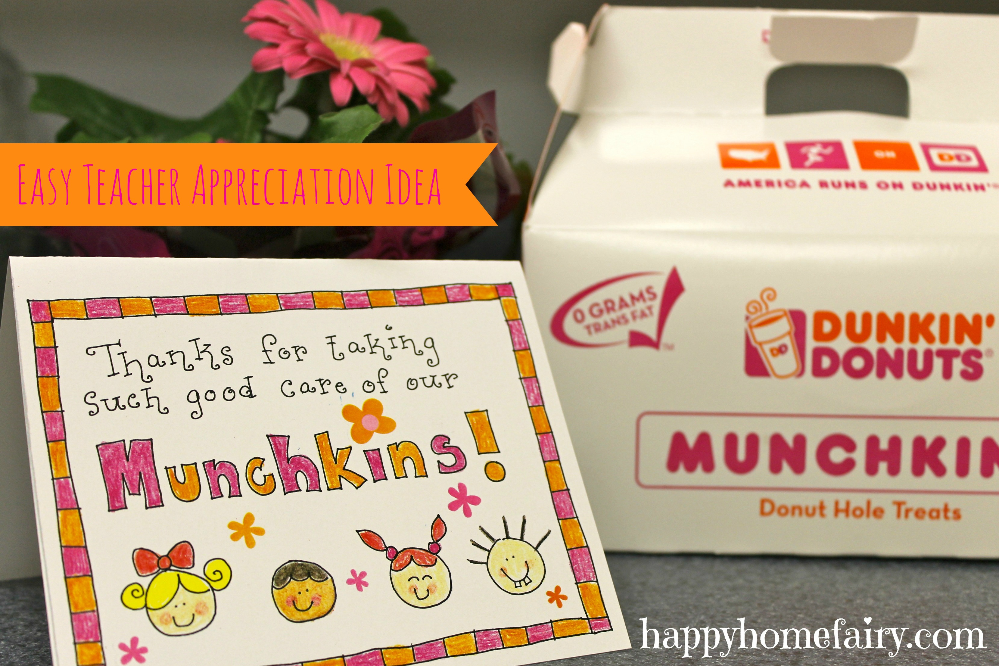 Easy Teacher Appreciation Idea - FREE Printable! - Happy ...