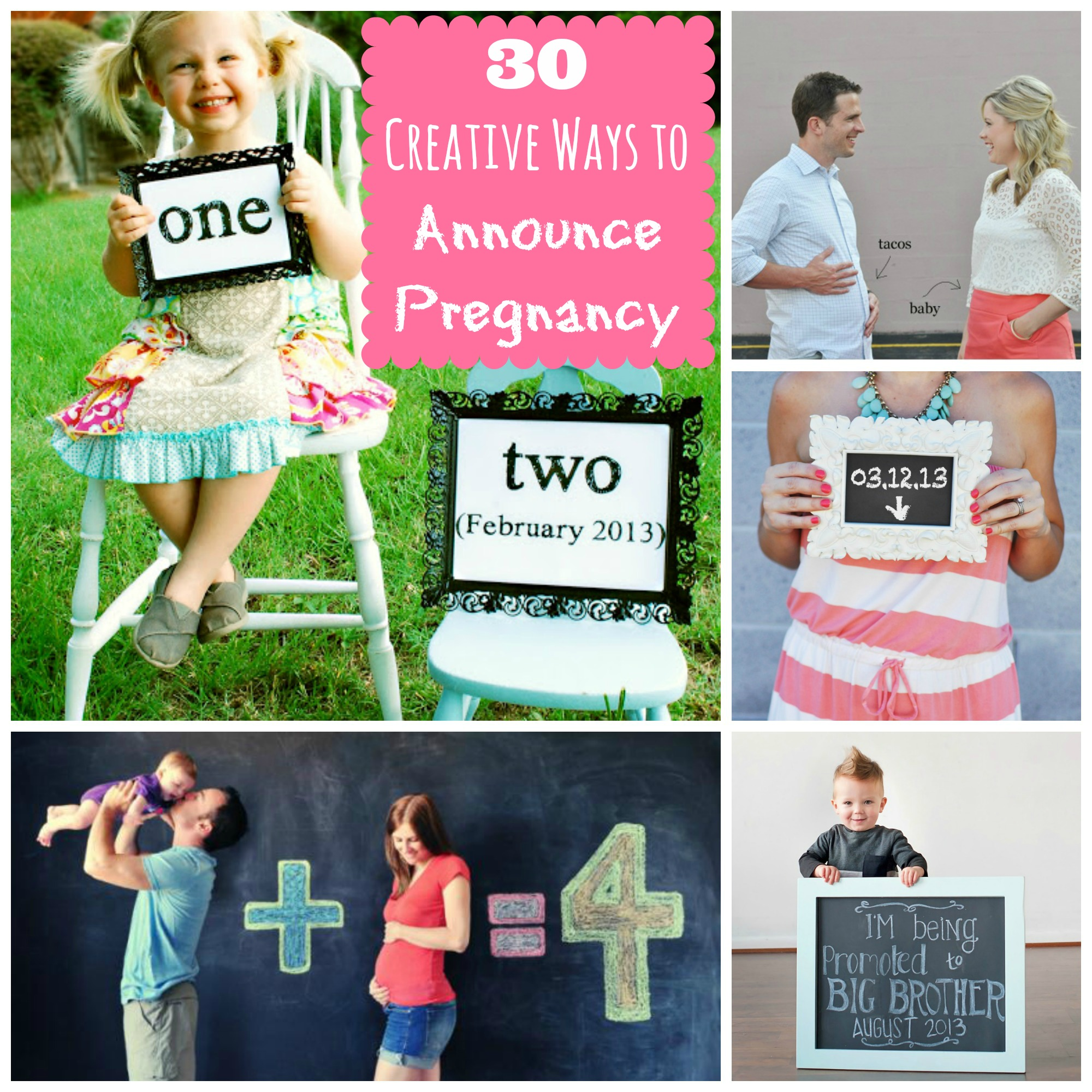 30 Creative Ways to Announce Pregnancy Happy Home Fairy – Sibling Announcing New Baby
