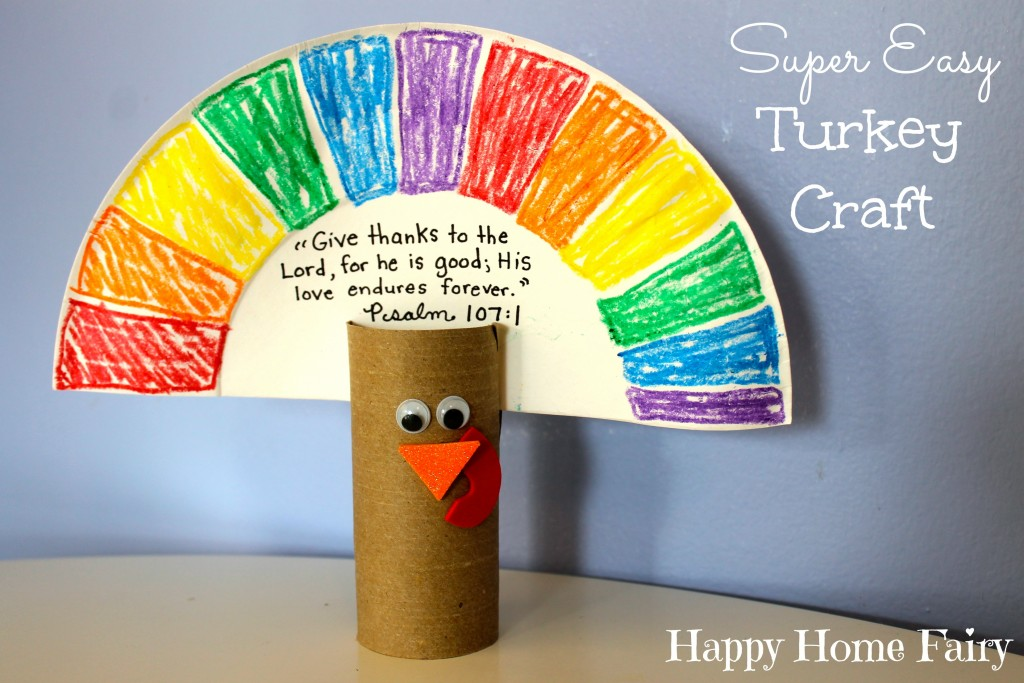 paper plate crafts easy turkey craft happy home 2633