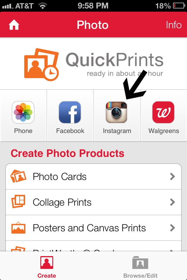 how to print your instagram photos   happy home fairy