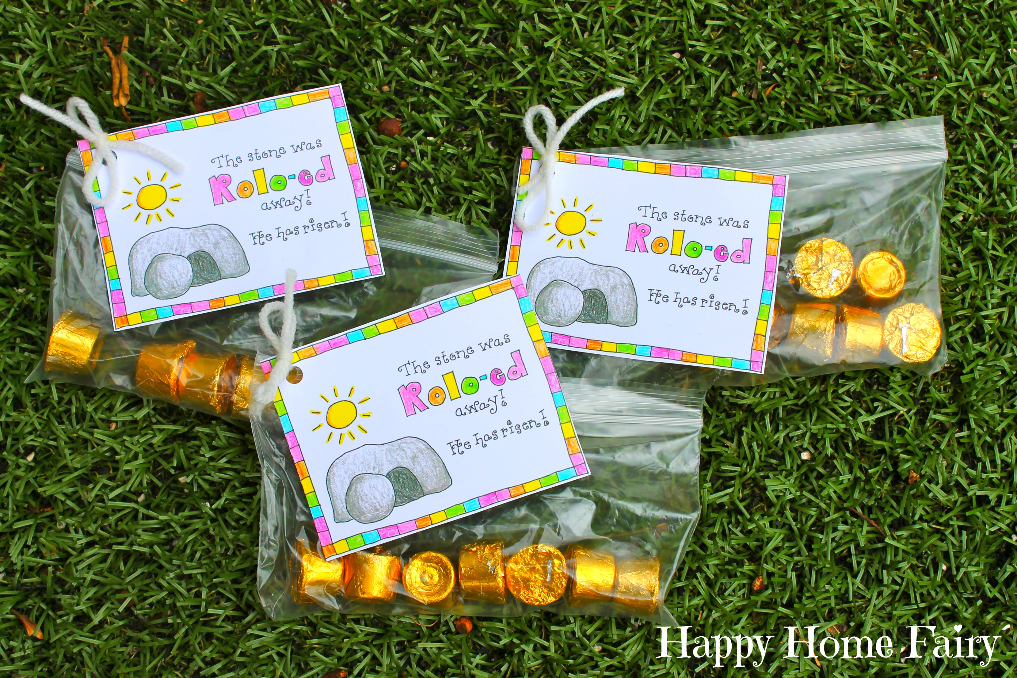 FREE Printable Easter Treat Tag - Happy Home Fairy