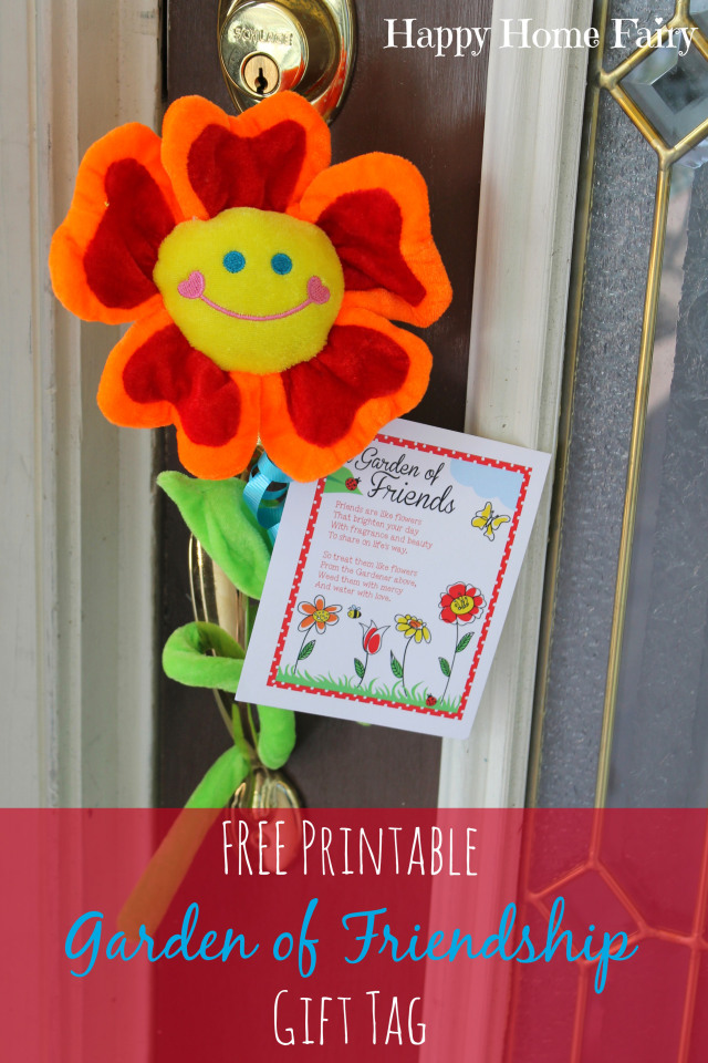 A Garden Of Friendship Free Printable Happy Home Fairy