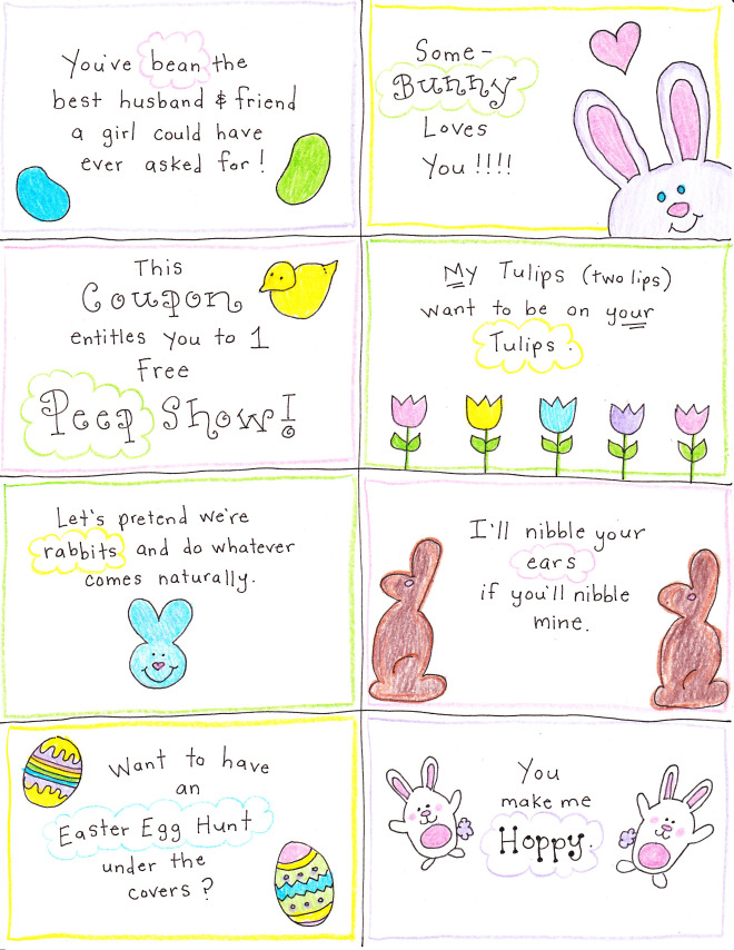 an easter basket for the happy hubby free printables