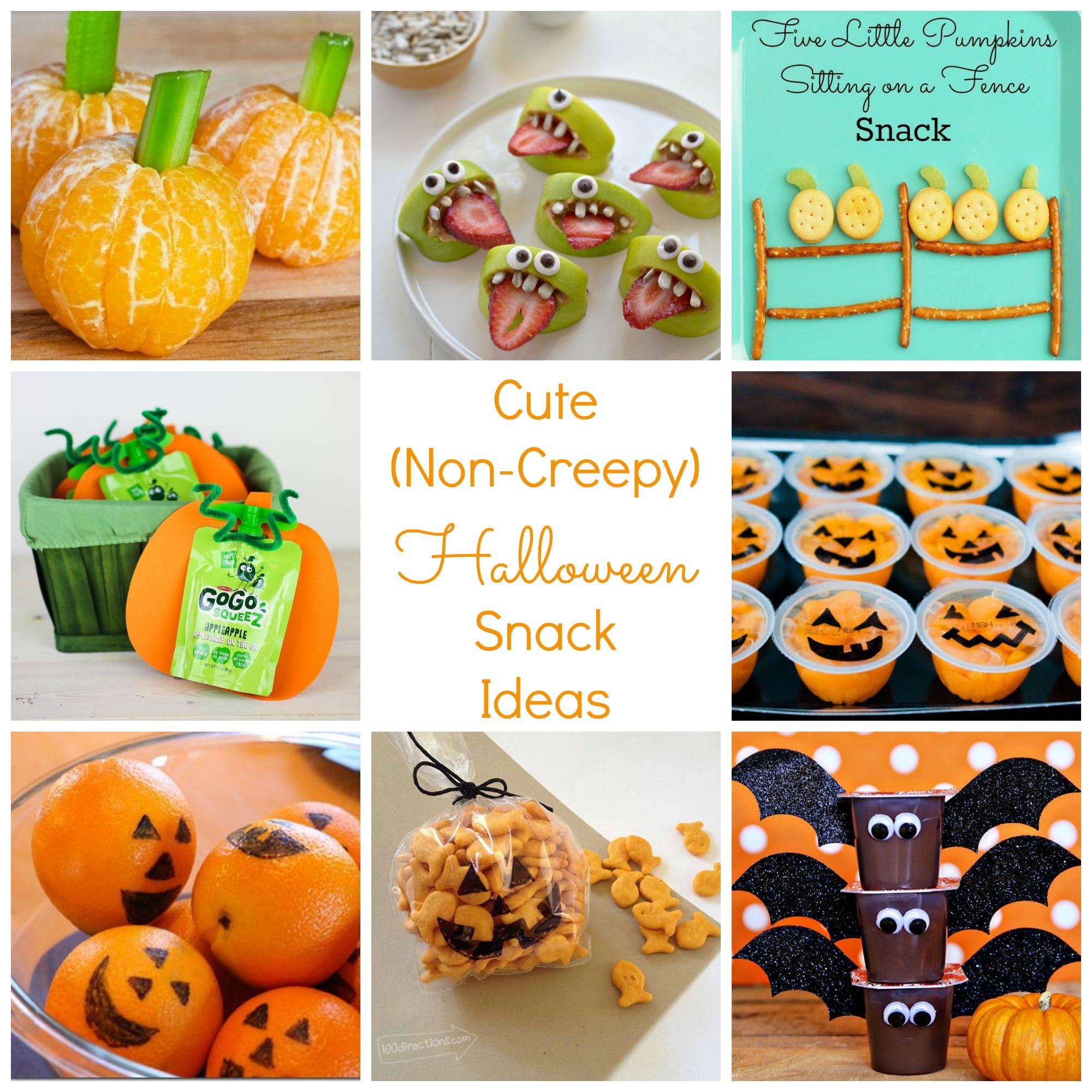 Classroom Snack Ideas : Cute non creepy halloween and fall snack ideas happy
