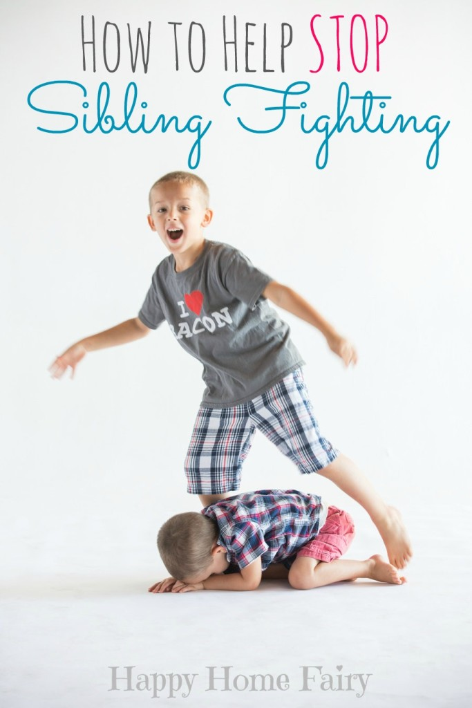 How To Help Stop Sibling Fighting Happy Home Fairy