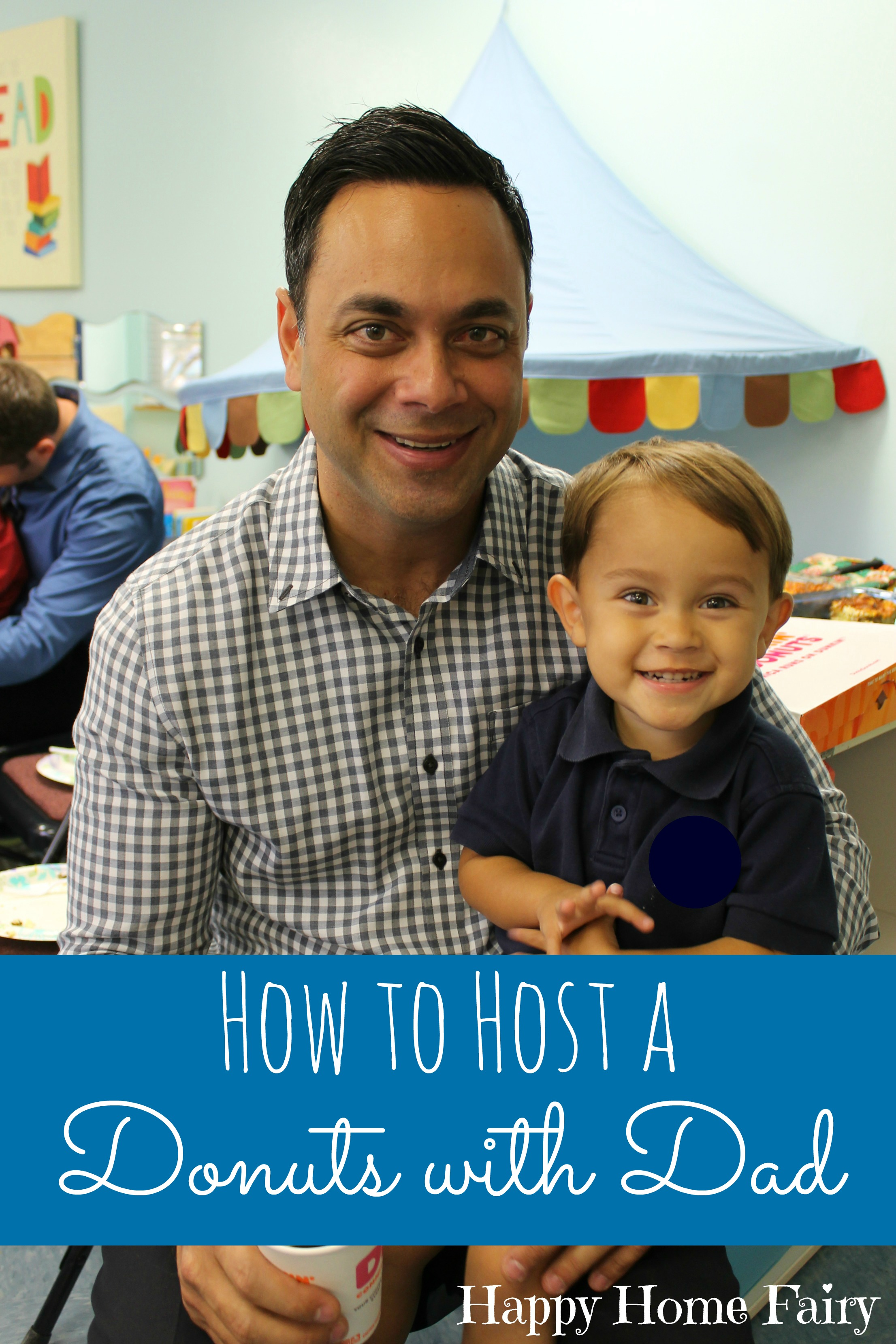 Classroom Decorations For Easter ~ How to host a donuts with dad in your preschool classroom