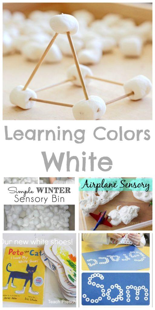 Teaching Colors - White - Happy Home Fairy