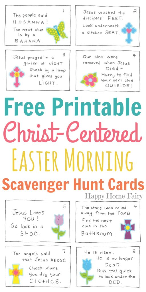 Clean image in free printable religious easter cards