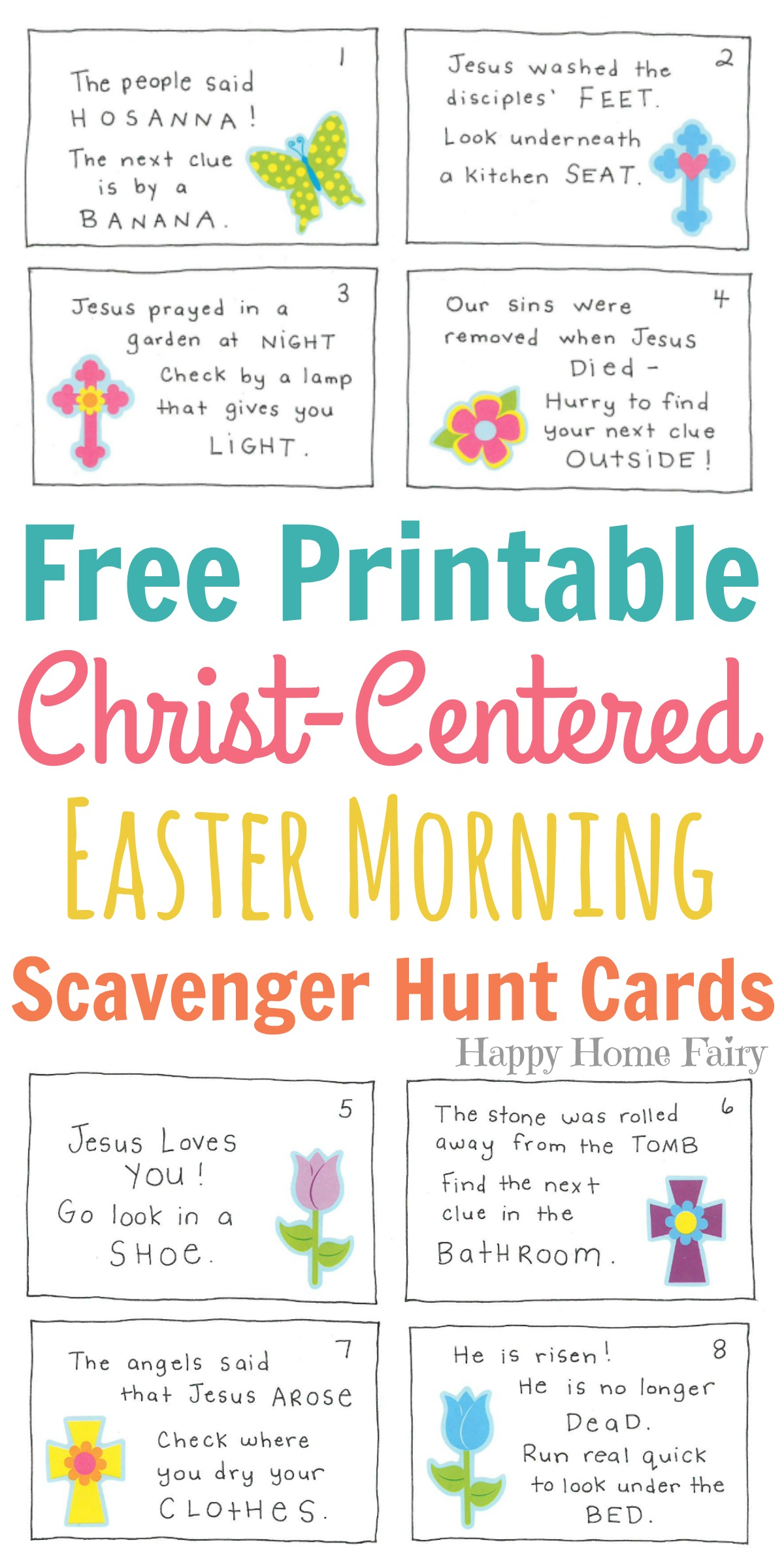 Easter archives happy home fairy christ centered easter morning scavenger hunt for preschoolers free printable negle Image collections