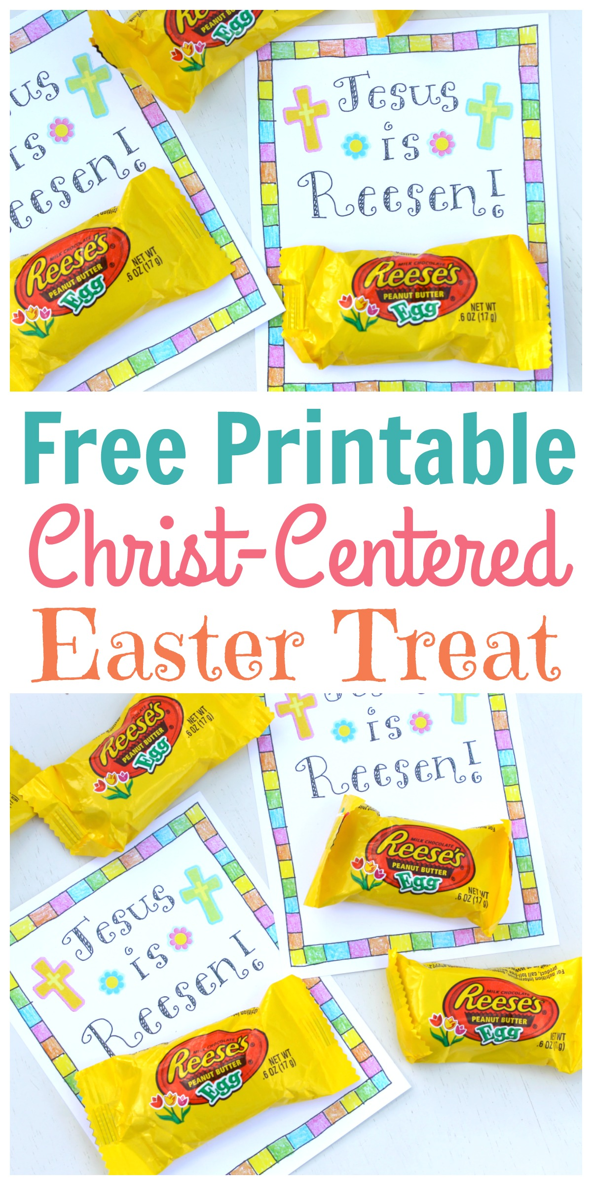 It's just an image of Astounding Printable Easter Tag