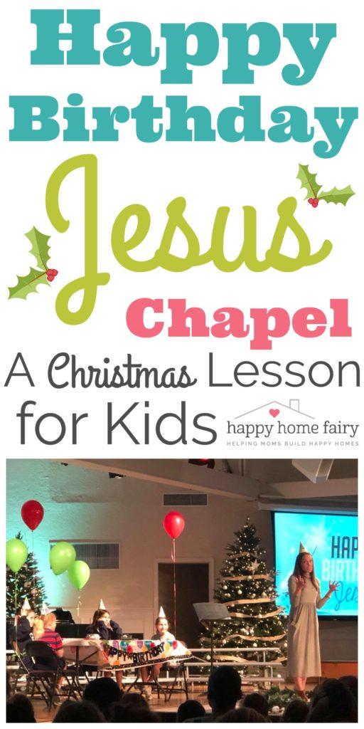 The Happy Birthday Jesus Chapel