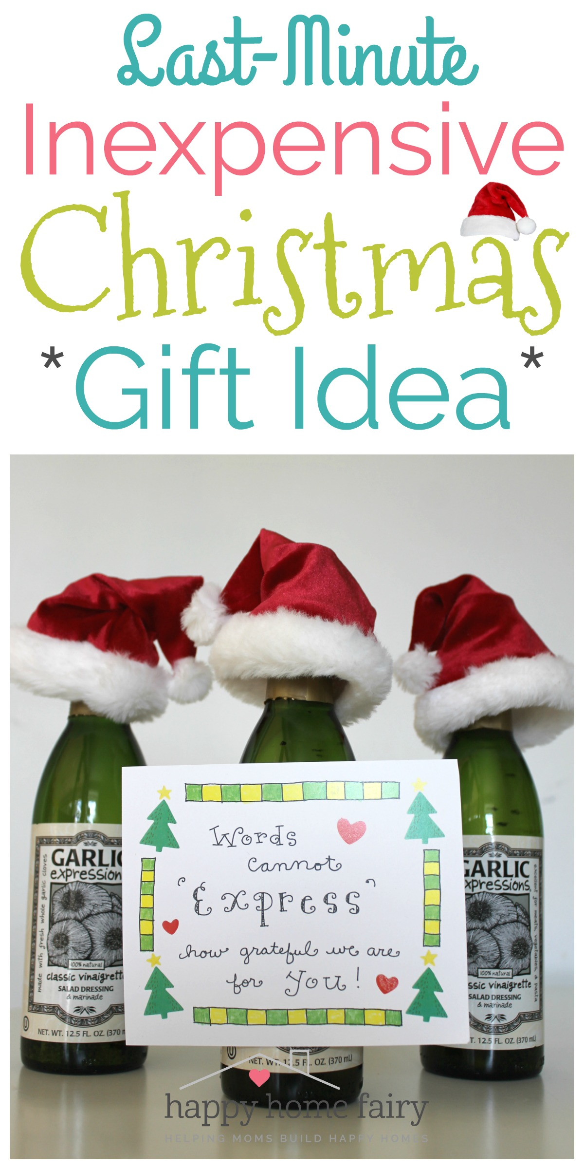 Last-Minute Inexpensive Christmas Gift Idea - FREE ...